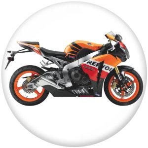 20 мм мотоцикл авто логотипы печать стеклянных кнопок кнопки