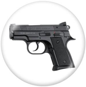 Пистолет 20 мм Печать стеклянных кнопок