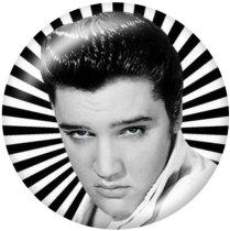 20 MM Elvis Presley Druckglas-Druckknöpfe