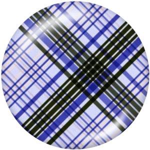 Botones a presión de vidrio de impresión de elemento de tablero de ajedrez de 20 mm