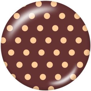 Botones a presión de vidrio de impresión de elemento de punto de onda de 20 mm