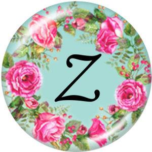 20 MM Alphabet Druckknopf 26 Wörter Glas austauschbare Druckknöpfe Schmuck