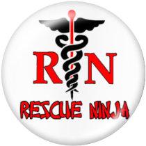 Botones a presión de vidrio de enfermera de 20 mm