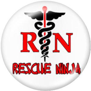 Стеклянные кнопки медсестры 20 мм