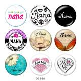 20MM nana glass snaps buttons