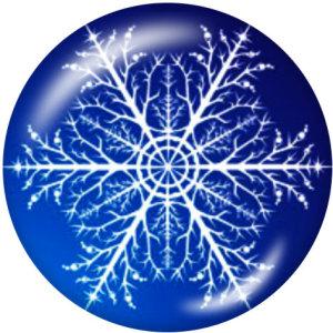 20MMクリスマスガラススナップボタン
