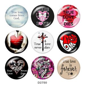 Кнопки с кнопками из стекла любви 20 мм