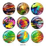 20-mm-Farbdruckknöpfe zum Drucken von Glas