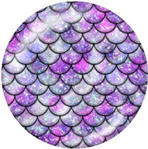 20MM  Pattern  Print glass snaps buttons Beach Ocean