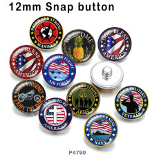 10pcs/lot National flag  glass picture printing products of various sizes  Fridge magnet cabochon