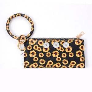 Snaps Leopard Print Serie Sandwich Armband Tasche passen 18mm Stücke