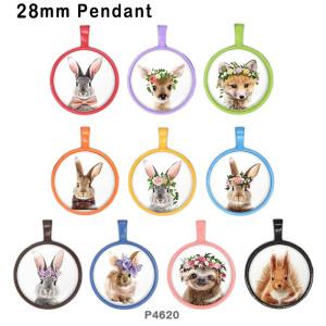 10 unids / lote productos de impresión de imágenes de vidrio animal de varios tamaños imán de nevera cabujón