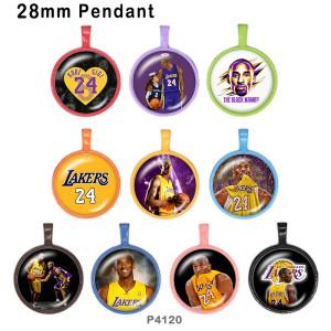 10 unids / lote productos de impresión de imágenes de vidrio Kobe de varios tamaños imán de nevera cabujón