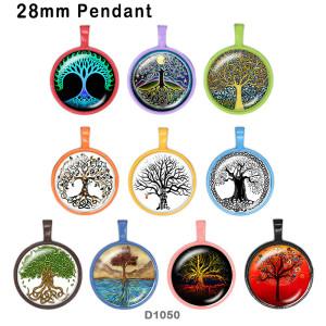 10 Stück / Loslebensdauer Baumglas-Bilddruckprodukte in verschiedenen Größen Kühlschrankmagnet Cabochon