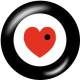 20MM  Love  Dreamcatcher  Car  Print   glass  snaps buttons