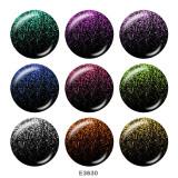 20-mm-Farbdruckglas-Druckknöpfe