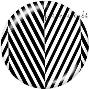 20-mm-Muster Druckknöpfe zum Drucken von Glas