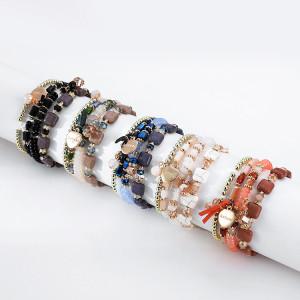 Liebe mit Anhänger mehrere Perlen Armbänder