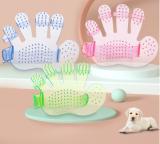 Pet bath brush glove massage palm five finger brush beauty supplies pet cleaning supplies