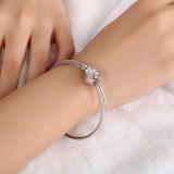 Edelstahl Katzenklauenarmband verstellbares Damenarmband