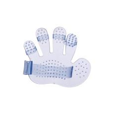 ペットバスブラシグローブマッサージ手のひらXNUMX本指ブラシ美容用品ペットクリーニング用品