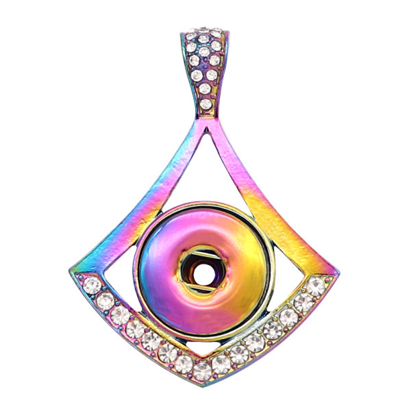 Colorful alloy Pendant fit 20MM snaps style jewelry