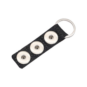 Porte-clés en cuir véritable pleine fleur de haute qualité