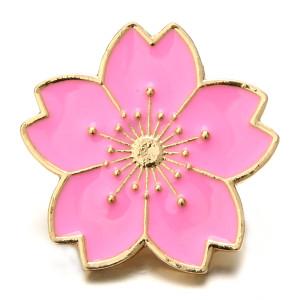 20 mm de metal chapado en oro rosa encantos a presión broches de joyería