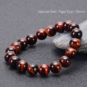 10MM Natural Blue Tiger Eye Armband Eagle Eye Cat Eye Armband