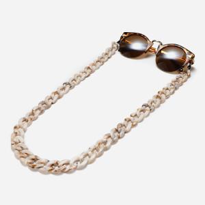 Mode Acryl Brille Kette Schildpatt Bernstein 13 Farbe Zweifarbige Brille Kette Anti-Lost Dick Spiegelseil