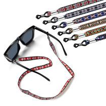 Glaskette (dickes buntes Seil) presbyopische Brille ethnischen Stil Farbe Seil Retro Kinderbrille Lanyard Anti-Lost