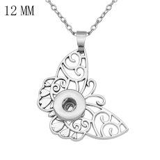 Collar de cadena de 46 cm en forma de trozos de 12 mm que se ajusta a la joyería