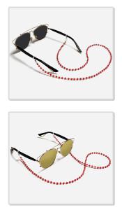 Бисероплетение очки веревка солнцезащитные очки шнурок очки шнурок