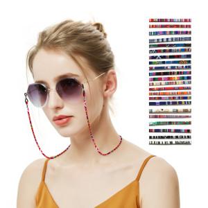 Очки веревка в этническом стиле шнурок для очков с защитой от потери шеи висит веревка разноцветная дополнительная разноцветная веревка для очков