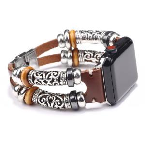 42 / 44MM iwatch correa de cuero apple watch pulsera smart watch accesorios