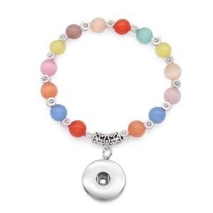 1 Knöpfe Mit Opal Elasticity Armband passen 18 & 20MM Druckknöpfe Schmuck