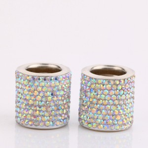 1 шт. Украшенное бриллиантами автомобильное кольцо для украшения подголовника, украшение для автомобильного сиденья