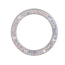 Auto Ein-Klick-Start dekorative Ring Aufkleber neue diamantbesetzte Zündknopfabdeckung Auto Kristall Start Zündung dekorativen Ring