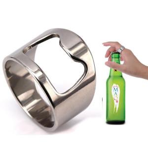 ステンレス鋼のコルク栓抜きリング