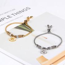 Diamant verstellbare Länge Titan Stahl Armband Edelstahl Tree of Life Armband
