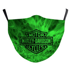 MOQ30 Motocicleta amor símbolo de nota musical Diseño personalizado para adultos labios artes mascarilla de moda lavable incluye bolsillo para filtro de tela suave correas elásticas para los oídos