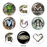20MM  l  love guns  coffee  car Print   glass  snaps buttons