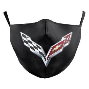 MOQ30 Sport Team Cartoon Jeep Auto Adult individuelles Design Lippen Kunst waschbare Mode Gesichtsmaske enthält Tasche für Filter weichen Stoff elastischen Ohrriemen