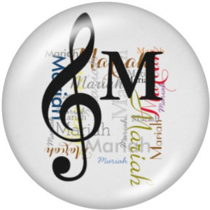 20-mm-Musikdruckglas-Druckknöpfe