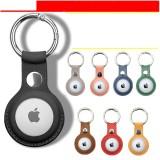 Anwendbare Apple AirTags Lederschutzhülle Apple Bluetooth Locator Tracker Ledertasche