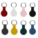 Suitable for Apple Airtags silicone protective sleeve Apple locator tracker anti-lost device keychain protective sleeve