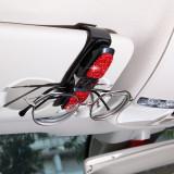 Car rotating car glasses holder, car card holder, bill holder, diamond-studded glasses holder