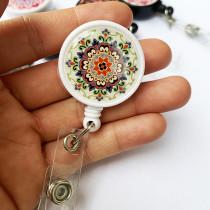 Цветные цветы Эпоксидная легко вытягивающаяся пряжка Легко вытягивающаяся выдвижная пряжка для значка