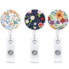 新鮮な小さな花の花格納式イージープルバックルフルプレーン回転イージープル