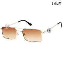 lunettes à pression lunettes de soleil à pression avec 2 boutons ajustables à 12 mm